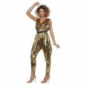 California Costumes Women's 70S Costume, Gold, XS